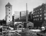 Novomlýnská vodárna osmdesátá léta 19. století