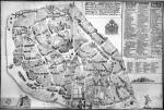 Plán vodovodní sítě Starého Města pražského z roku 1729